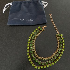 Oscar de La Renta necklace